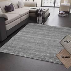 teppich grau kurzflor wohnzimmer teppich grau beige braun kurzflor meliert