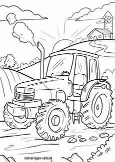Malvorlagen Bauernhof Traktor Malvorlage Traktor Kostenlose Ausmalbilder