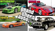 fast and furious 1 191 como se hacen 1 fast and furious 1 8 en gta v