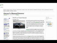 how to download repair manuals 2001 ford f series security system ford f150 owners manual free youtube