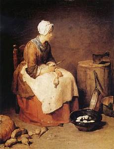The Kitchen Jean Baptiste Simeon Chardin by The Kitchen Jean Baptiste Simeon Chardin Open Picture