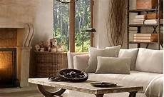 wohnzimmer gemütlich modern rustikale pendelleuchte aus amerikanischer kirsche