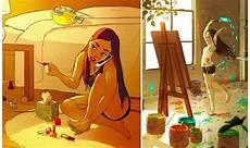 8 Ilustrasi Menakjubkan Ini Menilkan Cara Indah Wanita