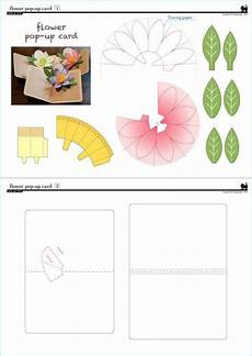pop up card templates pdf 274 best images about pop up i kirigami pattern on