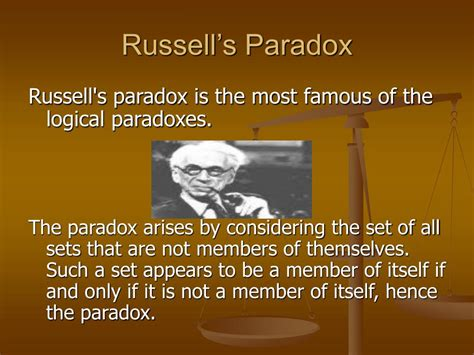 Famous Paradoxes