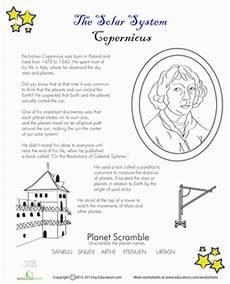 copernicus for worksheet education