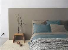 deco lit adulte tete de lit peinture chambre parents