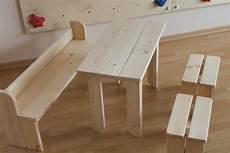 Sitzgruppe F 252 R Kinder Kinderm 246 Bel Aus Holz Natur Mit Tisch
