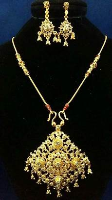 bridal necklace earrings jewelry thai wedding gold plated made in thailand ebay