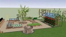 jardin potager sur terrasse terrasse piscine potager