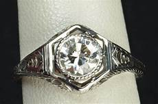 75 carat edwardian style engagement wedding ring from timelessantiques on ruby lane