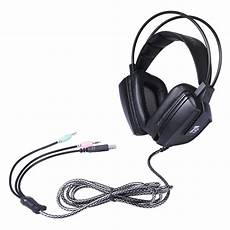 50mm Driver Vibration Gaming Headphone by T9 50mm Driver Led Vibration Gaming Headphone