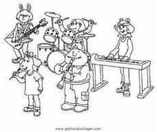 Malvorlagen Zum Nachmalen Musik Band 5 Gratis Malvorlage In Diverse Malvorlagen Musik