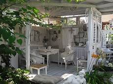 Shabby Landhaus Garten Gartenhaus Garten Pavillon Und