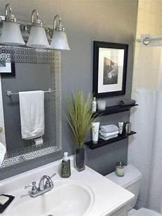 decoration ideas for bathroom 40 gray half bathroom decorating ideas on a budget