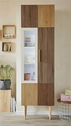 bois pour meuble mixer les mati 232 res du bois pour un meuble de rangement original leroy merlin