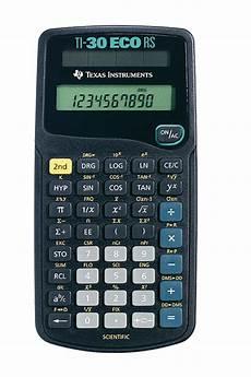 taschenrechner texas instruments ti 30 eco rs taschenrechner ti 30 eco rs instruments g 252 nstig