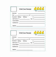 free 10 simple receipt templates in free sles