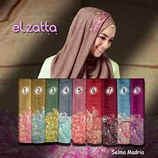 Jilbab Elzatta Model Terbaru Selendang Elzatta Selma