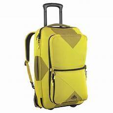 vaude rails 80 lit koffer rucksack mit rollen gelb neu ebay