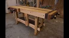 Altes Holz Bearbeiten - woodworking the samurai workbench