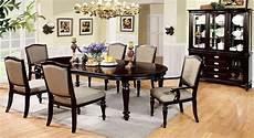 harrington elegant dark walnut formal dining with matching china cabinet cm3970