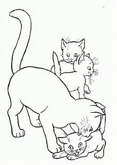 Ausmalbilder Katze Mit Babys Katze 13 Ausmalbilder Katzen Ausmalbilder Ausmalen