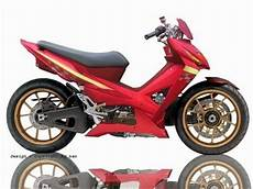 Modifikasi Motor Honda Revo Absolute by 6 Variasi Modifikasi Motor Honda Absolute Revo Variasi