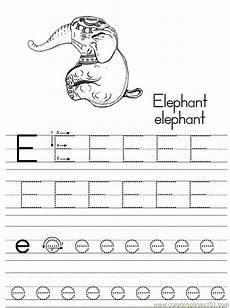 scrivere lettere d free printable coloring page alphabet abc letter e