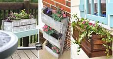 pot de fleur en palette bac 224 fleurs en bois de palette 20 id 233 es inspirantes 224