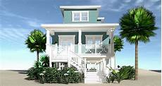 narrow lot beach house plans on pilings plan 44144td narrow beach home with 3 beds and great