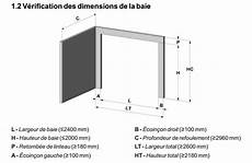 dimension de porte de garage dimensions mini pour une porte de garage sectionne