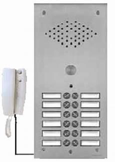 Platine Interphone Immeuble Raccordement Interphone Immeuble