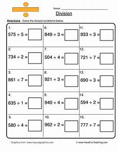 worksheets for division for grade 4 6529 math division worksheets resources