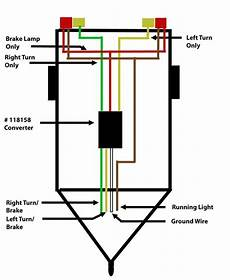 wiring bargman double tail light 47 84 612 so that turn signal works independently from brake