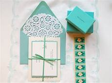 diy quot little blue box quot inspired rubber st wedding invitations