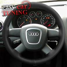 audi a3 lenkrad for audi a3 8p 2003 2013 black real genuine leather