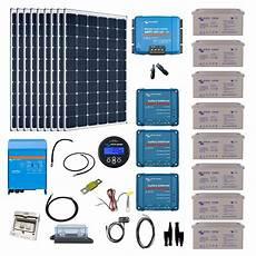 kit solaire 2700w hybride multiplus 230v 5000va