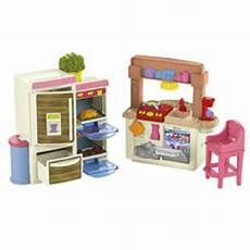 loving family kitchen furniture dollhouse fisher price dollhouses miniatures furniture