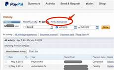 how to read paypal transaction history how to find and search your paypal history in the new paypal interface the internet patrol