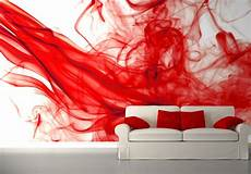 Rote Tapeten Wandgestaltung - 254x183cm photo wallpaper wall mural abstract composition