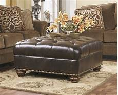 presidio oversized accent ottoman in 2019 leather living room furniture oversized ottoman