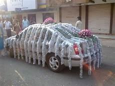wedding prank ideas again no flowers but wedding car decorations