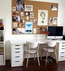 Arbeitszimmer Ikea Expedit - workspace cool home office with ikea expedit desk for