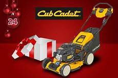 Adventskalender Gewinnspiel 2018 Cub Cadet Rasenm 228