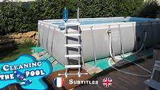 aspirateur intex nettoyage de ma piscine intex ultra