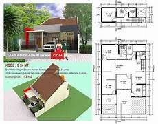 30 Desain Denah Rumah Minimalis 2 Lantai Sederhana