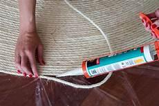 teppich aus sisal seil selber machen diy