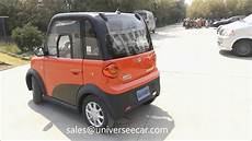 jy mini sedan electric car for 2 or 4 passengers