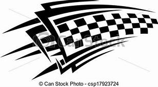 Tribal Racing Tattoo EPS Vector  Csp17923724